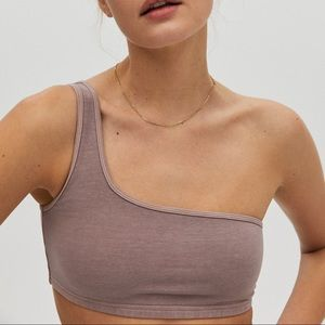 NEW ARITZIA one shoulder bra top